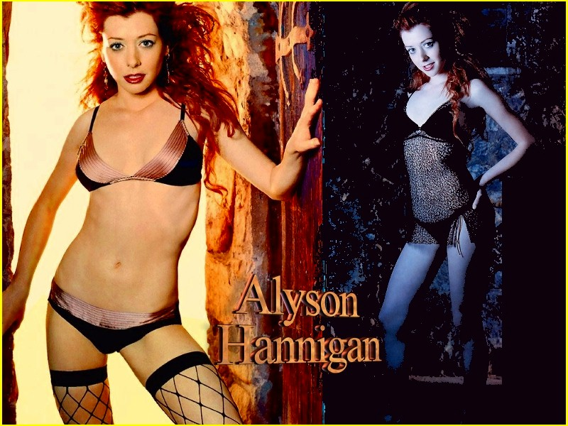 Alyson Hannigan Wallpapers